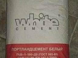 Белый цемент 25кг.