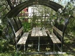 Беседка садовая разборная - фото 3