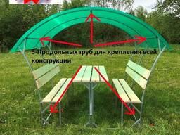 Садовая беседка (Импластик-Престижная-2). Надежная