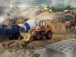Бетон Раствор ЦПС (цементно-песчаная смесь) доставка.