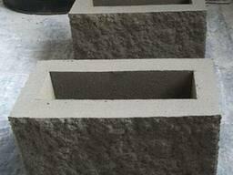 Бетонный блок для забора и стен