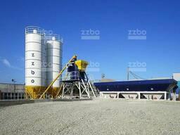 Мобильный бетонный завод Компакт-45