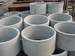 Бетонные кольца колодца КС 10-5