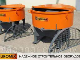 Бетоносмеситель принудительный Euromix 600.300