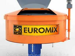 Бетоносмеситель принудительный Euromix 600.750