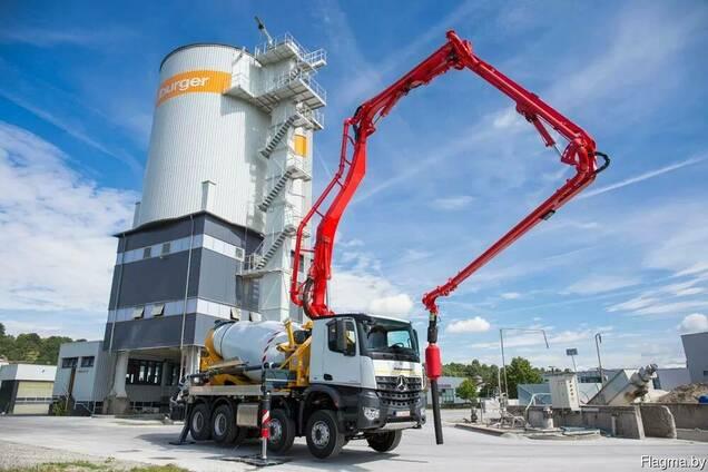 Доставка бетона бетононасосом бетон купить в выксе на