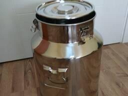 Бидон из нержавеющей стали 25 литров