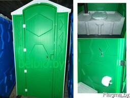 Биотуалет Евростандарт. Уличная туалетная кабина