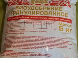 Биоудобрение гранулированное (органо-минеральное удобрение)