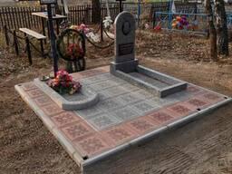 Благоустройство мест захоронений Гомель и обл