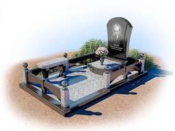 Благоустройство мест захоронения, памятники, ограды, плитка