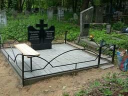 Благоустройство мест захоронения Витебске Полоцк Новаполоцк