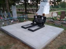 Благоустройство могил, мест захоронения в Заславле. Под ключ, недорого.