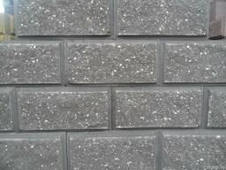 Блок бессер, демлер, бетонный колотый декоративный - фото 2