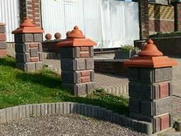 Блок бессер, демлер, бетонный колотый декоративный - фото 5