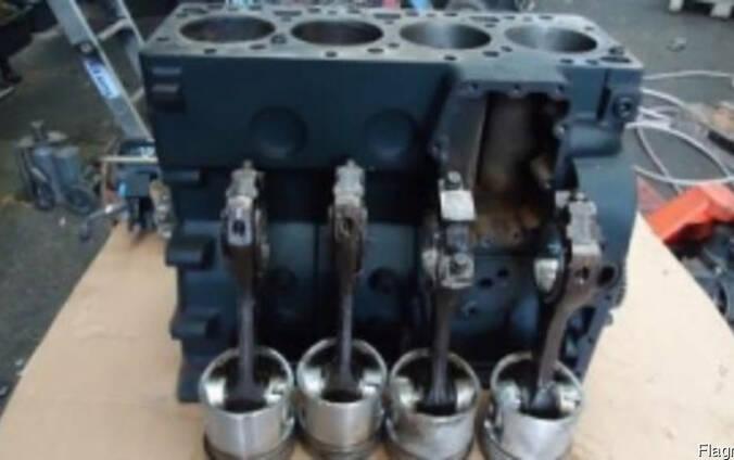 Блок цилиндров case 580