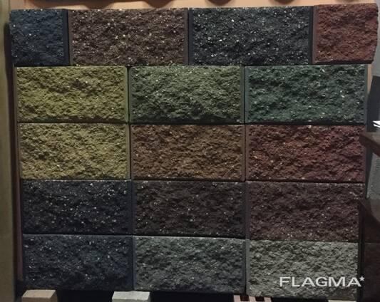 Блок демлер цветной рваный