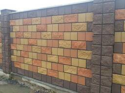 Блок демлер (рваный камень) ,(декоративный), (колотый).