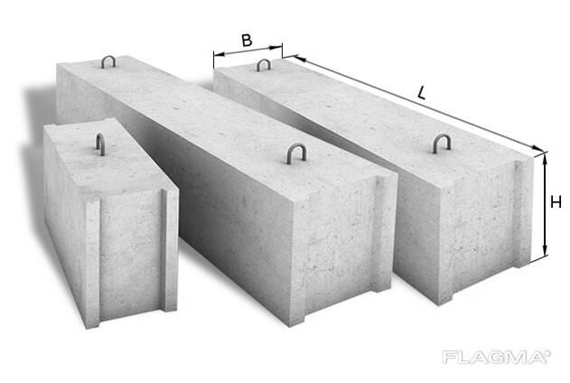 Блок фундаментный (ФБС) 24-3-6