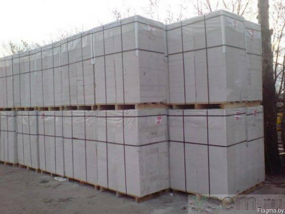 Блок газосиликатный 1 категории на клей