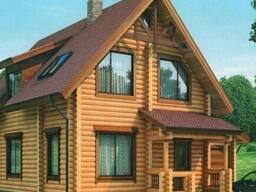 Блок - хаус сосна, сорта А,АВ,С,толщ.20,28,35мм*шир.96,142мм