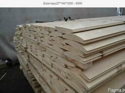 Блок-хаус 27*140*1000 - 6000