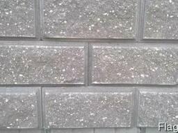 Блок колотый (бессер, демблер) для фундаментов зданий