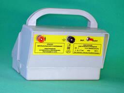 Блок питания электрического ограждения ИЭ-2, работает от встроенных гальванической (4. ..