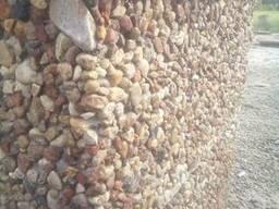 Блоки для забора бетонные с фактурой натурального камня