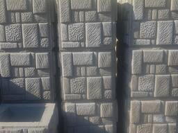 Блоки для забора Мозайка