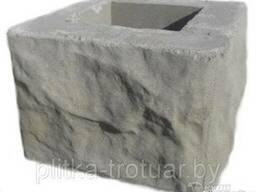 """Блоки для забора """"рваный камень"""""""