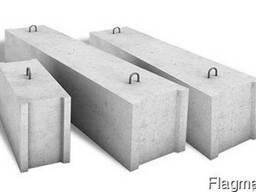 Блоки фундаментов ФБС 9.3.6 - фото 1