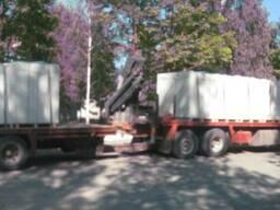 Блоки ГС на клей Д500, доставка с завода