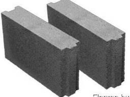 Блоки керамзитобетонные 100мм для перегородок
