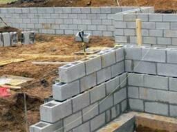 Блоки стен фундаментов