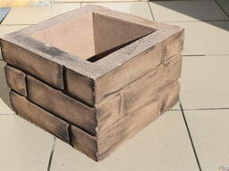 Блоки столбовые, рядовые, накрывочные элементы