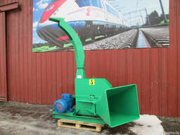 БОБР 160 электро рубильная машина щепоруб дереводробилка