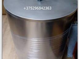 Бочка 160л из нержавеющей стали ( с крышкой)