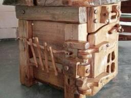 Большой письменный стол из массива ДУБА !!!