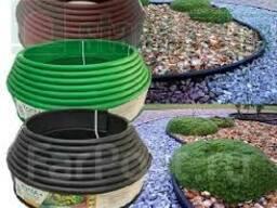 Бордюр KANTA пластиковый для садовых дорожек