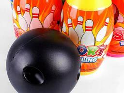 Боулинг детский 10 кеглей (h-20см) и 2 мяча в наборе