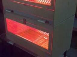 Брудер 2-х ярусный для цыплят 80 штук, индюшат 60 штук - фото 4
