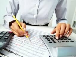 Бухгалтерские услуги, бухгалтер для юр лиц и ип