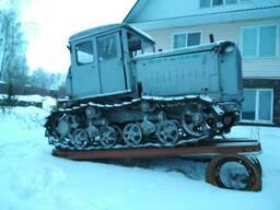 Бульдозер ДТ-74 без лопаты