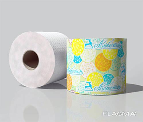 Бумага туалетная 50 м. c гильзой