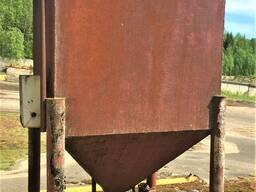 Бункер для твердотопливного котла, 3. 5 м3