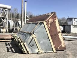 Бункер накопительный 11 м3, с обогревом и утеплением