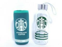Бутылка для воды Starbucks coffee 300 мл в чехле