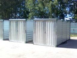 Быстросборные металлические мобильные контейнеры