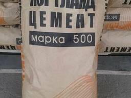 Цемент М500 Д0 в мешках по 25 кг.